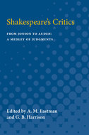 Cover image for 'Shakespeare's Critics'