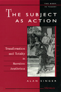 Cover image for 'The Subject as Action'