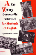 Book cover for 'A to Zany Community Activities for Students of English'