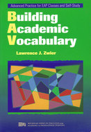 Cover image for 'Building Academic Vocabulary'