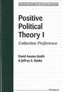 Book cover for 'Positive Political Theory I'