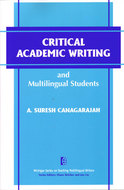 Book cover for 'Critical Academic Writing and Multilingual Students'
