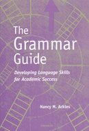 Cover image for 'The Grammar Guide'
