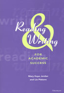 Book cover for 'Reading and Writing for Academic Success'