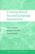 Cover image for 'Content-Based Second Language Instruction'