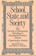 Book cover for 'School, State, and Society'