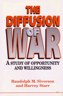 Cover image for 'The Diffusion of War'