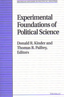 Cover image for 'Experimental Foundations of Political Science'