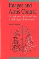 Book cover for 'Images and Arms Control'