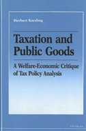 Book cover for 'Taxation and Public Goods'