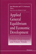Cover image for 'Applied General Equilibrium and Economic Development'