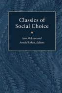Book cover for 'Classics of Social Choice'