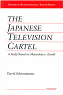 Cover image for 'The Japanese Television Cartel'