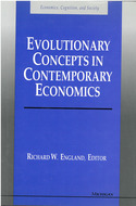 Cover image for 'Evolutionary Concepts in Contemporary Economics'