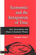 Book cover for 'Economics and the Antagonism of Time'