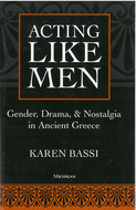 Book cover for 'Acting Like Men'