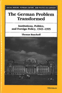 Book cover for 'The German Problem Transformed'