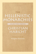 Book cover for 'The Hellenistic Monarchies'