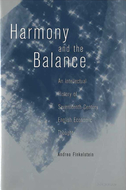 Book cover for 'Harmony and the Balance'
