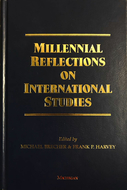 Book cover for 'Millennial Reflections on International Studies'