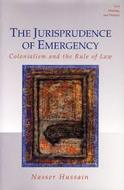 Book cover for 'The Jurisprudence of Emergency'