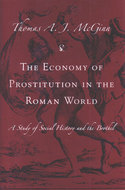 Book cover for 'The Economy of Prostitution in the Roman World'