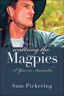 Book cover for 'Waltzing the Magpies'