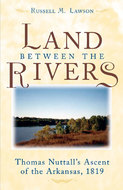 Book cover for 'The Land between the Rivers'