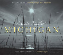 Book cover for 'Monte Nagler's Michigan'