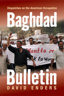 Book cover for 'Baghdad Bulletin'