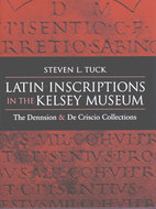 Cover image for 'Latin Inscriptions in the Kelsey Museum'
