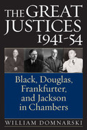 Cover image for 'The Great Justices, 1941-54'