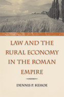 Cover image for 'Law and the Rural Economy in the Roman Empire'