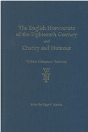 Book cover for '<div><b>The English Humourists of the Eighteenth Century</b> and <b>Charity and Humour</b></div>'