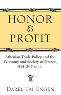 Book cover for 'Honor and Profit'