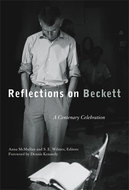 Book cover for 'Reflections on Beckett'