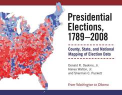Book cover for 'Presidential Elections, 1789-2008'