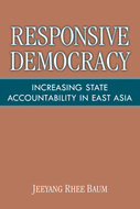 Book cover for 'Responsive Democracy'