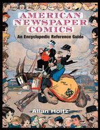 Book cover for 'American Newspaper Comics'