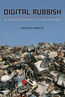 Book cover for 'Digital Rubbish'