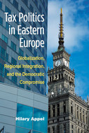 Book cover for 'Tax Politics in Eastern Europe'
