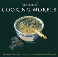Book cover for 'The Art of Cooking Morels'