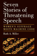 Book cover for 'Seven Stories of Threatening Speech'