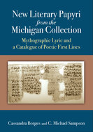 Book cover for 'New Literary Papyri from the Michigan Collection'
