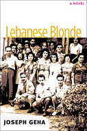 Book cover for 'Lebanese Blonde'