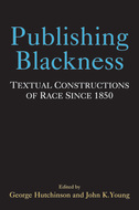 Book cover for 'Publishing Blackness'