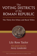 Book cover for 'The Voting Districts of the Roman Republic'