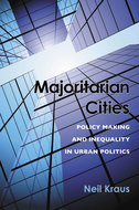 Book cover for 'Majoritarian Cities'