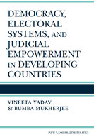 Cover image for 'Democracy, Electoral Systems, and Judicial Empowerment in Developing Countries'