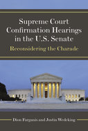 Book cover for 'Supreme Court Confirmation Hearings in the U.S. Senate'